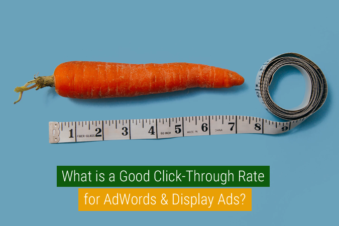 what is a good click through rate for display ads